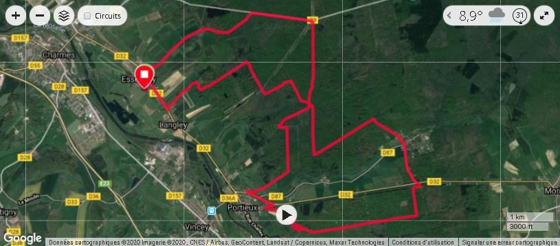 VTT , Vélo , Club , sport , cyclisme , Essegney , trace GPS , parcours VTT , déjantés essegney